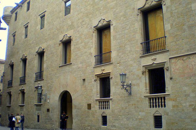 Palau Reial Major, Barcelona, Spain