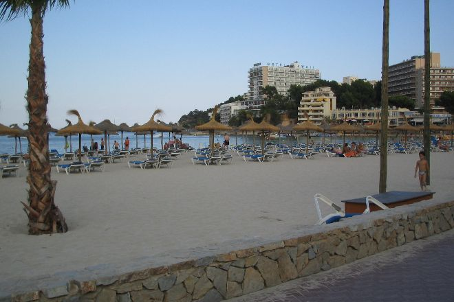 Palma Nova Beach, Palmanova, Spain