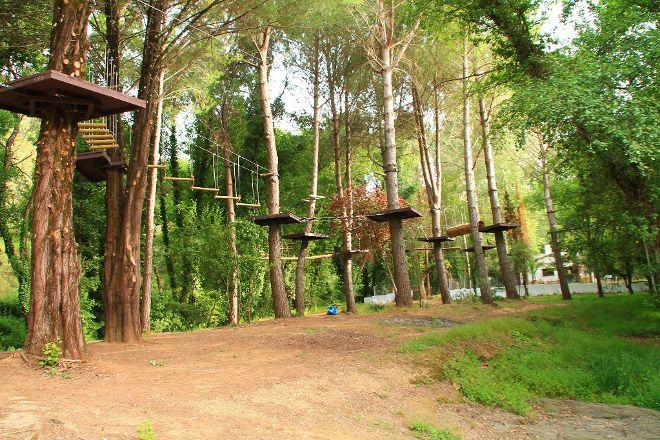 Parque Aventura Sierra Norte, Cazalla de la Sierra, Spain
