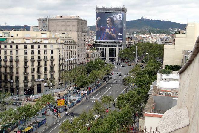 Passeig de Gracia, Barcelona, Spain
