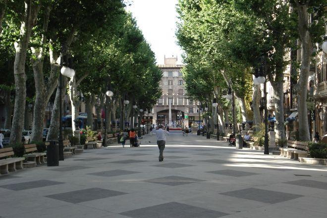 Passeig des Born, Palma de Mallorca, Spain