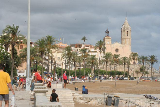 Passeig Maritim, Sitges, Spain