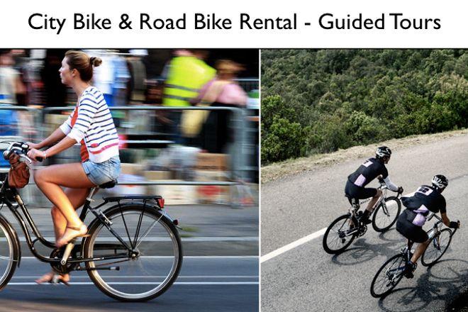 Pedal Bike Rental, Barcelona, Spain