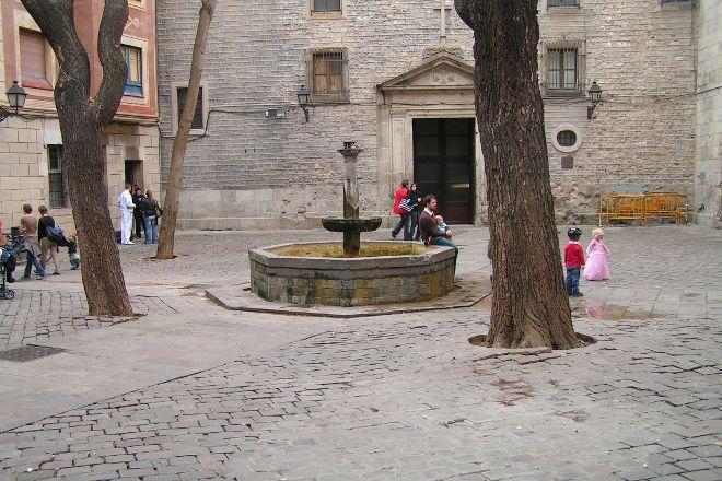 Plaça de Sant Felip Neri, Barcelona, Spain