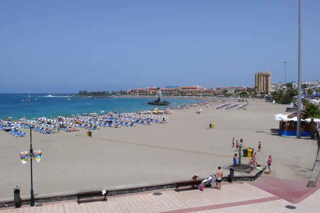 Playa de las Vistas, Los Cristianos, Spain