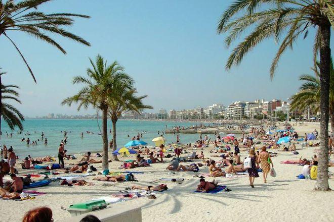 Playa de Palma, El Arenal, Palma de Mallorca, Spain