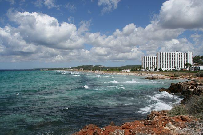Playa de Son Bou, Alaior, Spain