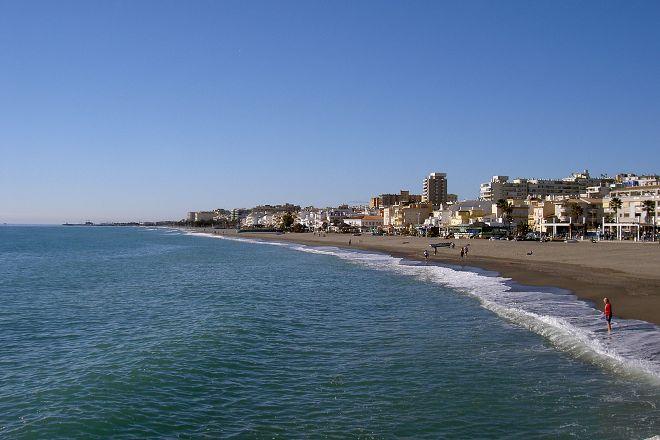Playa La Carihuela, Torremolinos, Spain