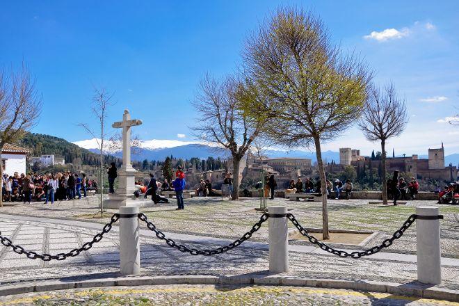 Plaza de San Nicolas, Granada, Spain