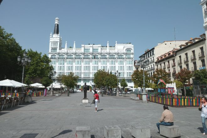 Plaza de Santa Ana, Madrid, Spain