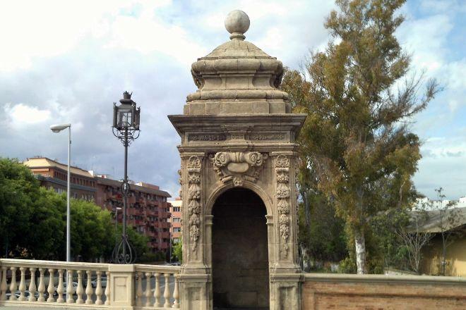 Puente de San Bernardo, Seville, Spain