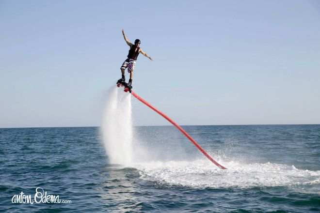 X-wave cambrils FlyBoard, Cambrils, Spain
