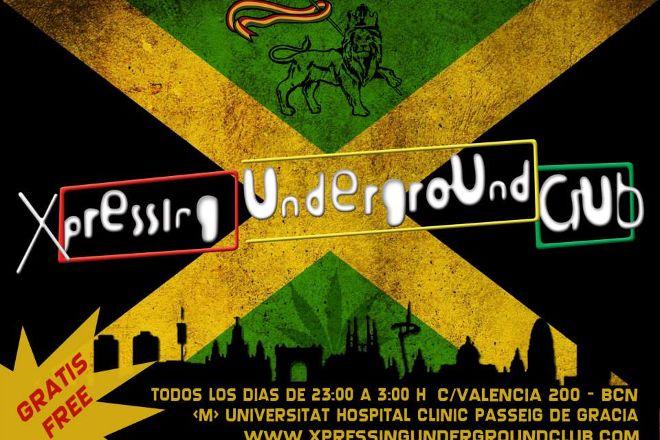 Xpressing Underground Club, Barcelona, Spain