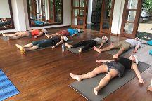 Yoga in Niyagama House, Galle, Sri Lanka