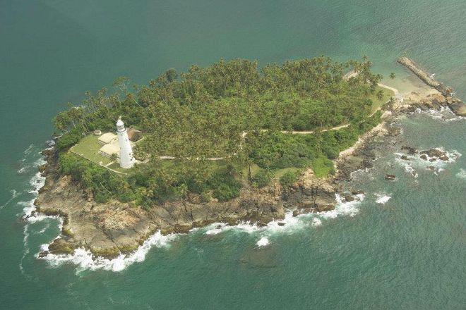 Barberyn Island Lighthouse, Beruwala, Sri Lanka