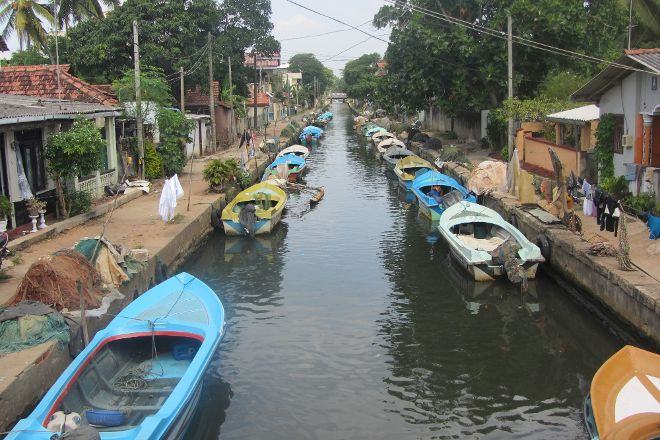 Dutch Canal, Negombo, Sri Lanka