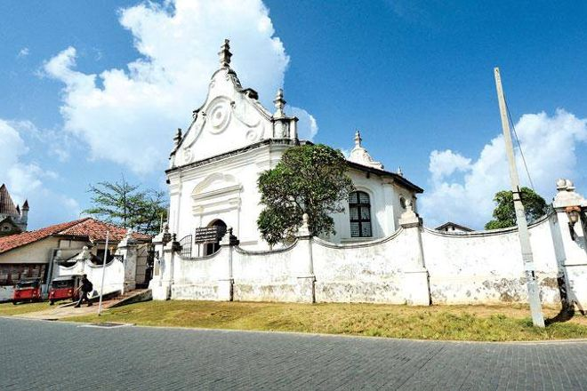 Fort Shri Sudarmalaya Buddhist Temple, Galle, Sri Lanka