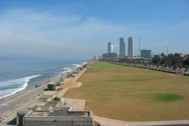 Galle Face Green, Colombo, Sri Lanka
