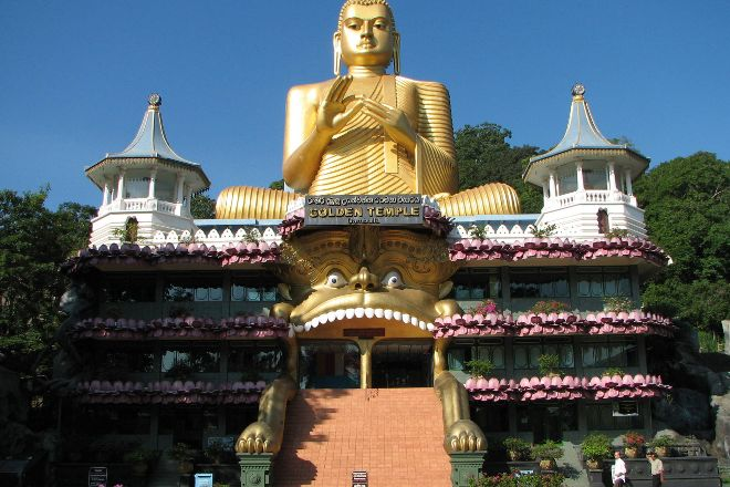 Golden Temple of Dambulla, Dambulla, Sri Lanka