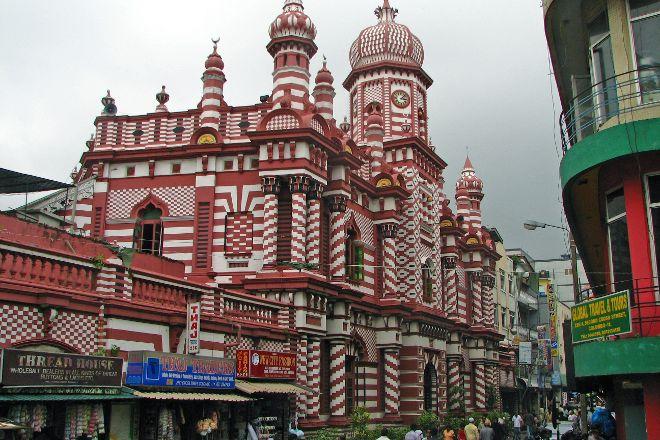 Jami Ul-Alfar Mosque, Colombo, Sri Lanka