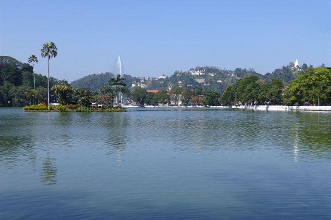 Kandy Lake, Kandy, Sri Lanka