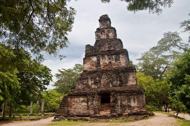 Sathmahal Prasada, Polonnaruwa, Sri Lanka