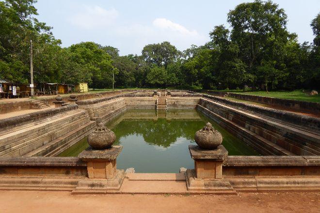 Twin Baths (Kuttam Pokuna), Anuradhapura, Sri Lanka