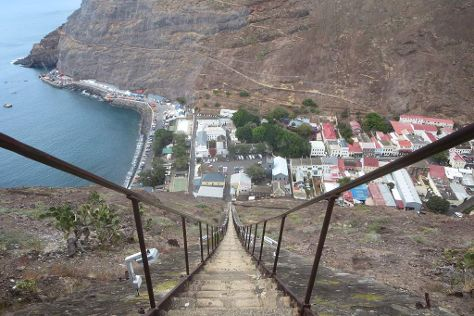 Jacob's Ladder, Jamestown, St Helena, Ascension and Tristan da Cunha