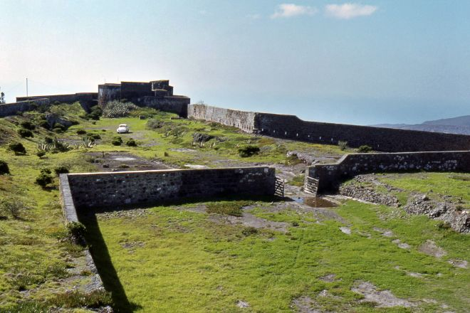 High Knoll Fort, St Helena Island, St Helena, Ascension and Tristan da Cunha