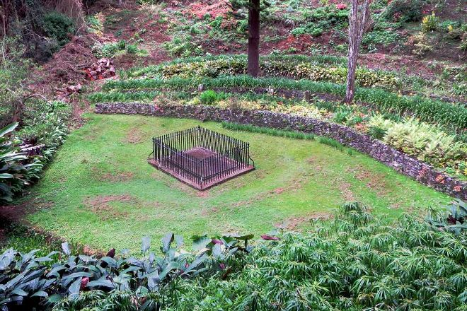 Napoleon's Tomb, St Helena Island, St Helena, Ascension and Tristan da Cunha