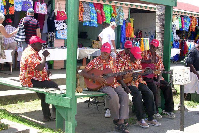 Amina Craft Market, Basseterre, St. Kitts and Nevis