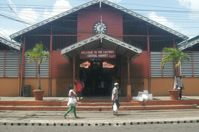 Castries Market, Castries, St. Lucia