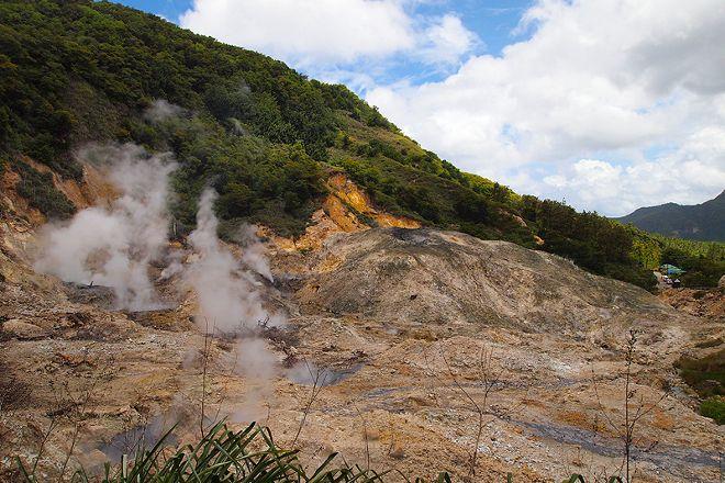 Sulphur Springs, Soufriere, St. Lucia