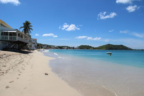 Grand Case Beach, Grand Case, St. Maarten-St. Martin