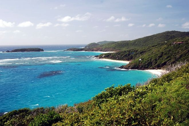 Lagoon Beach, Mustique, St. Vincent and the Grenadines