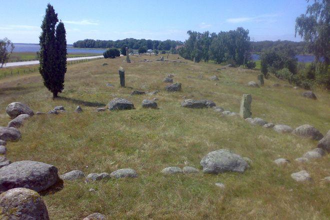 Hjortahammar gravfalt, Ronneby, Sweden