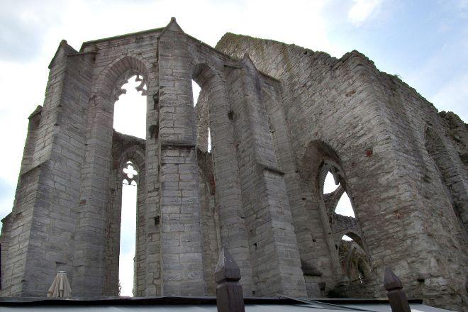 St. Karin Cathedral Ruins, Gotland, Sweden