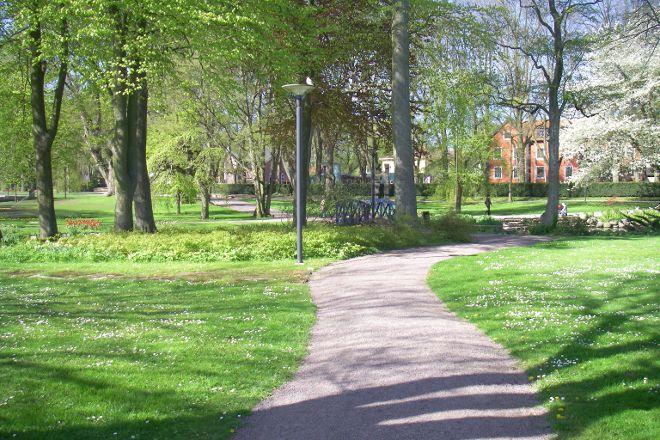 Stadsparken, Kalmar, Sweden
