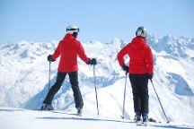 Parsenn Skigebiet, Davos, Switzerland