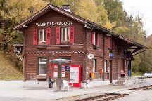 Ruinaulta Rheinschlucht, Versam, Switzerland