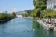 Swimming Pools Unter Letten, Zurich, Switzerland