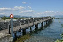 Wooden Bridge from Rapperswil to Hurden, Rapperswil, Switzerland