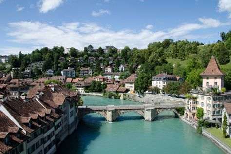 Aare River, Bern, Switzerland