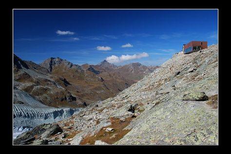 Cabane de Moiry, Grimentz, Switzerland