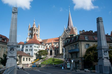 Cathedrale de Lausanne, Lausanne, Switzerland
