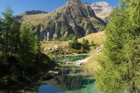 Lac Bleu, Arolla, Switzerland