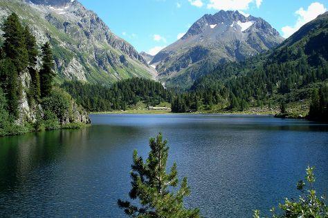 Lagh da Cavloc, Maloja, Switzerland
