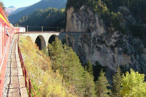 Landwasser Viaduct, Filisur, Switzerland