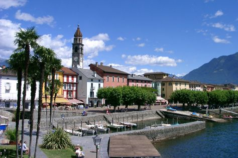 Piazza G. Motta, Ascona, Switzerland