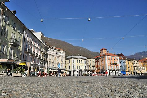 Piazza Grande, Locarno, Switzerland